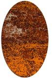 rug #1064898   oval beige graphic rug