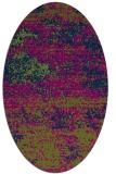 rug #1064945 | oval graphic rug