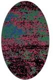 rug #1065098 | oval abstract rug
