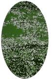 rug #1065182   oval light-green abstract rug