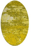 rug #1065190 | oval white graphic rug