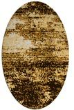 rug #1065198 | oval abstract rug