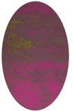 rug #1065242   oval light-green abstract rug