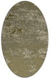 rug #1065246   oval light-green abstract rug