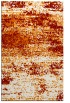 rug #1065474 |  orange abstract rug