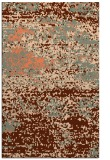 rug #1065482 |  red-orange abstract rug