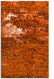 rug #1065546 |  red-orange graphic rug