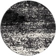 rug #1065638 | round white abstract rug