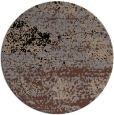 rug #1065650 | round brown abstract rug