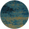 rug #1065662 | round brown abstract rug