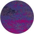 rug #1065670 | round pink rug