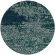 rug #1065674 | round blue abstract rug