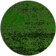 rug #1065694 | round green abstract rug
