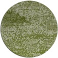 rug #1065762 | round green abstract rug