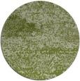 rug #1065762 | round green rug