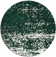 rug #1065770 | round green abstract rug