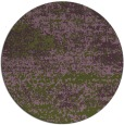 rug #1065774 | round green abstract rug