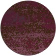 rug #1065870   round purple abstract rug