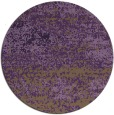 rug #1065878 | round purple abstract rug