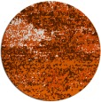 rug #1065914 | round red-orange abstract rug