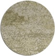 rug #1065974 | round light-green abstract rug