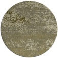 rug #1065982 | round light-green abstract rug