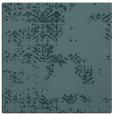 rug #1068286 | square blue-green damask rug
