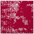 rug #1068330 | square red traditional rug
