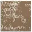 rug #1068366 | square mid-brown damask rug
