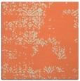 rug #1068422 | square orange damask rug