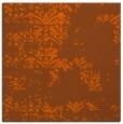rug #1068486 | square red-orange damask rug