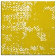 rug #1068534 | square yellow graphic rug
