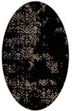 rug #1068590 | oval beige faded rug