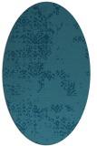 rug #1068651 | oval damask rug