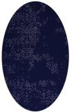 rug #1068666   oval faded rug