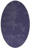 rug #1068673 | oval damask rug
