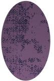 rug #1068679 | oval faded rug