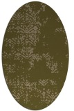 rug #1068694 | oval brown graphic rug