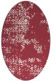 rug #1068804 | oval damask rug
