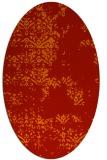 rug #1068834 | oval red popular rug