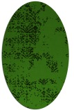 rug #1068862 | oval light-green faded rug