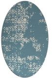rug #1068887 | oval faded rug