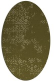 rug #1068926 | oval light-green rug