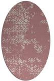rug #1068934 | oval faded rug
