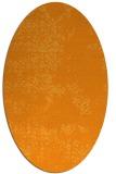 rug #1068938 | oval light-orange traditional rug