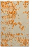 rug #1068946 |  orange damask rug