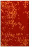 rug #1069202 |  orange graphic rug