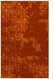 rug #1069214 |  red-orange damask rug