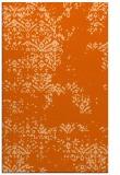 rug #1069218 |  red-orange damask rug