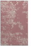 rug #1069302 |  pink popular rug